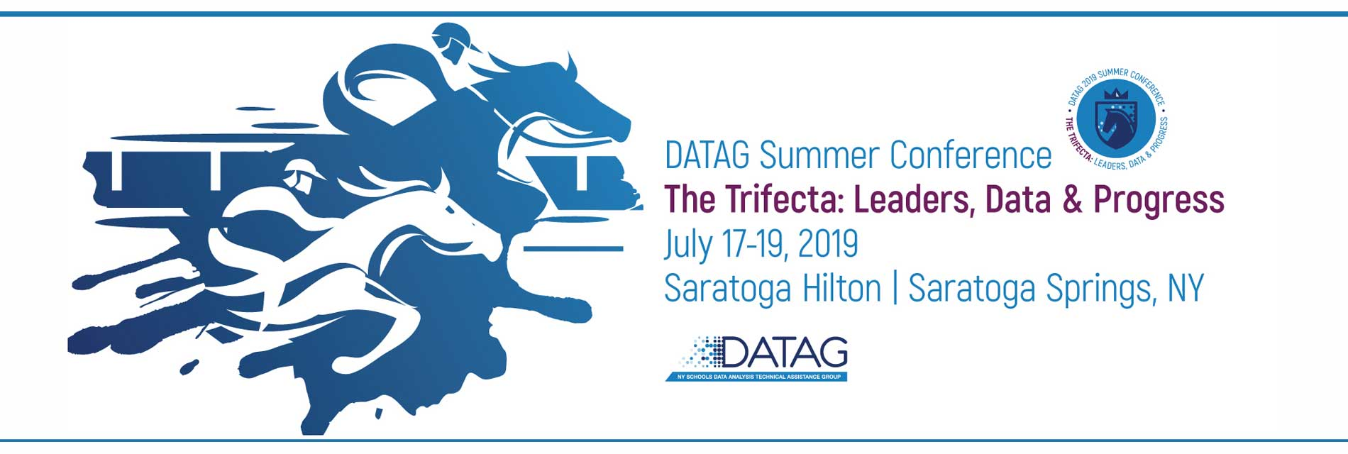 Leading with Data: 2018 Summer Conference | July 11-13 | The Saratoga Hilton | Saratoga Springs, NY